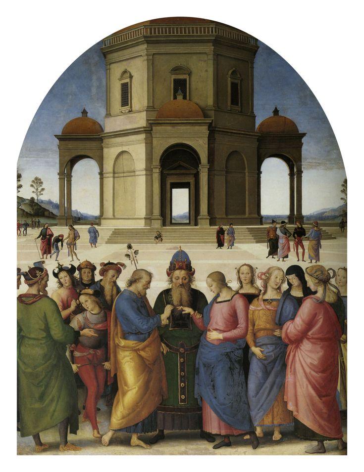 Pietro_Perugino_sposalizio della Vergine 1502-1504