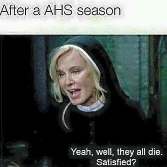 "24 Brutal ""American Horror Story"" Memes That Sum Up The"