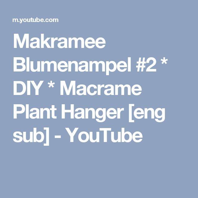 17 best ideas about makramee blumenampel on pinterest blumenampeln handgemachte perlen and. Black Bedroom Furniture Sets. Home Design Ideas