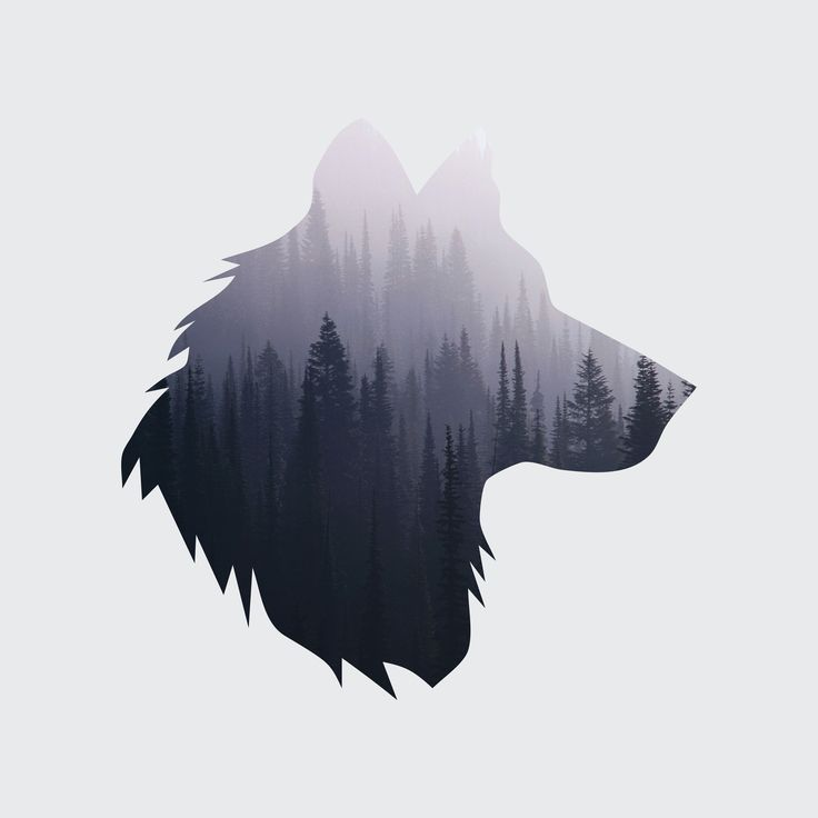 17 best ideas about Simple Wolf Tattoo on Pinterest ...