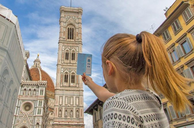 Florence Sighseeing Tour for Kids and Families with Local Guide