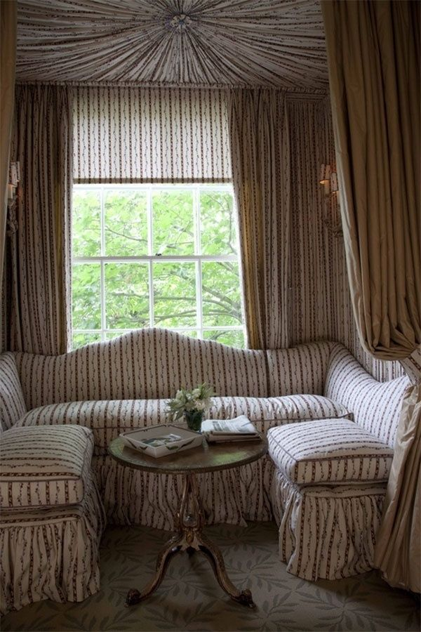 NOW AND THEN: Tented Rooms Inspired by My Stay at the Chamberlain Hotel - Decor Arts Now