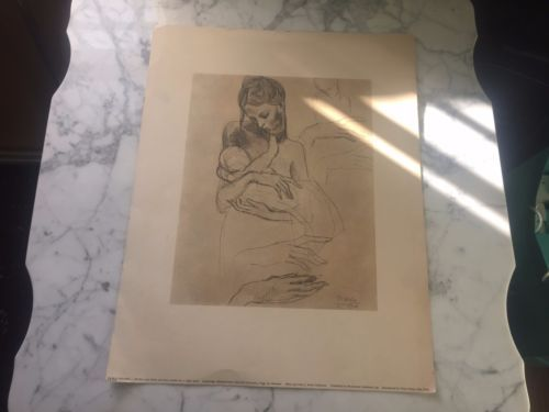 PABLO-PICASSO-Mother-Child-and-Four-Studies-For-A-Right-Hand-Print-Harvard-Uni