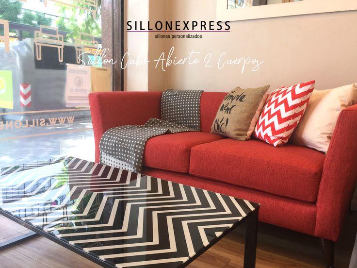 Sillón Sofa 2 3 Cuerpos al MEJOR PRECIO en SILLONEXPRESS! :) Foto: 1.50mts tapizado en rafia suave rojo coral :) Super Resistente! >> Buscá tu sillón en STOCK o personalizalo AL MEJOR PRECIO y en TIEMPO EXPRESS! #SOFA #SILLON #SILLONEXPRESS #CHENILLE #RAFIA #ANTIGATO #PRECIO