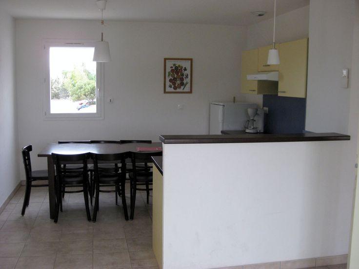 Exemple d'appartement 3 pièces 6 personnes dans la résidence Goelia, les Jardins de Phoebus à Gruissan.