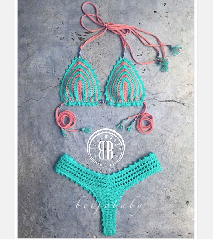 Coral reef bikini by beijobaby on Etsy
