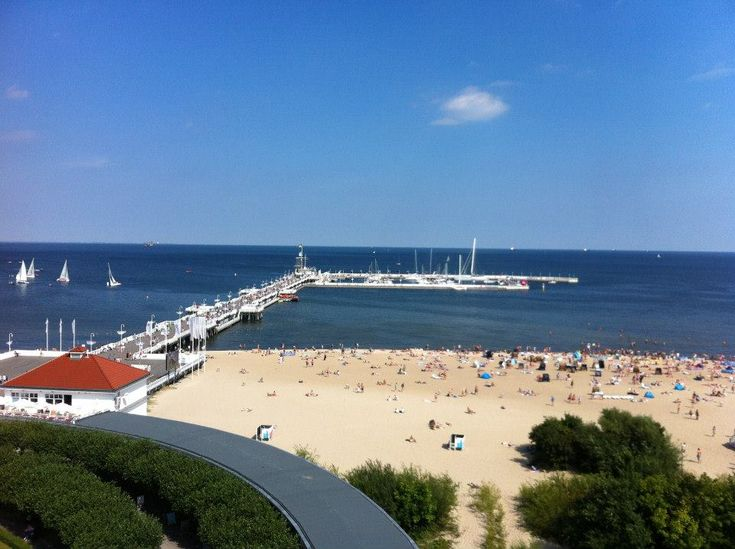 Sopot Poland on the Baltic sea