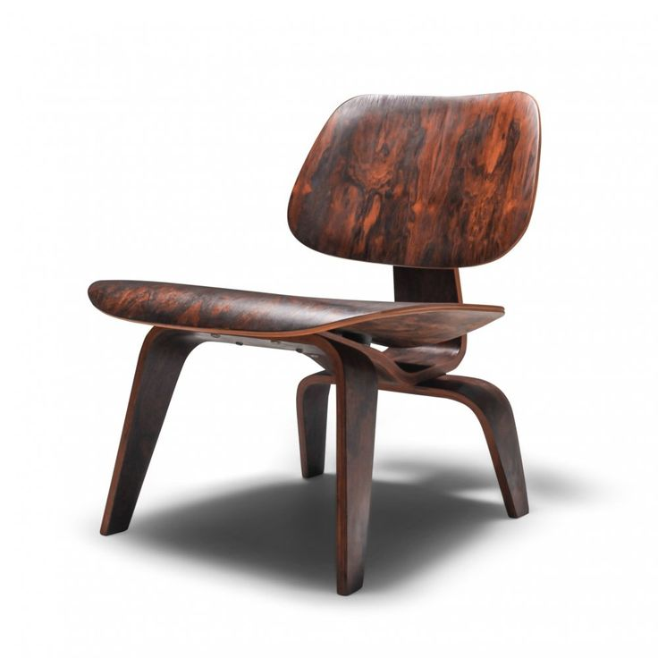 For sale eames preproduction lcw chair in rio rosewood