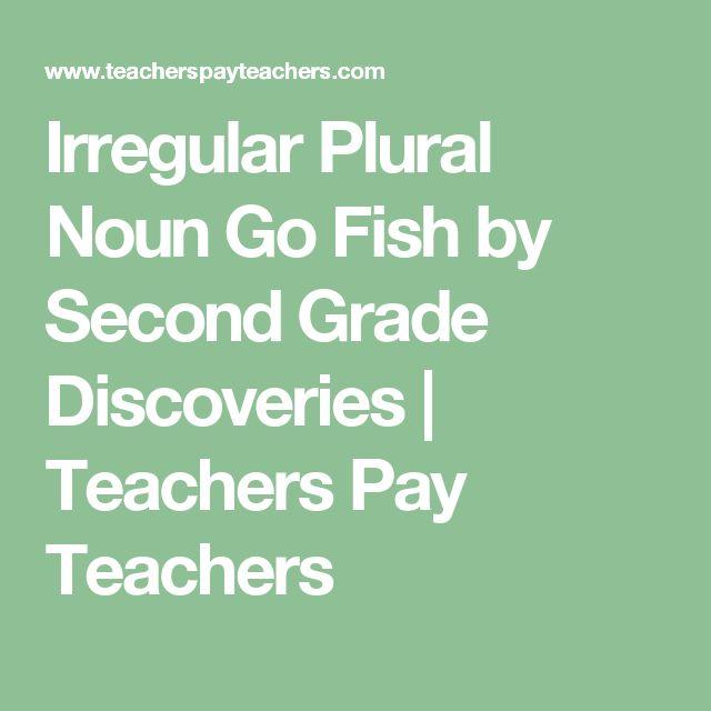 Best 25 irregular plural nouns ideas on pinterest for Plural of fish