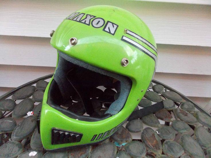 Vintage Maxon Ram Air Motocross BMX SIZE Medium Helmet OLD SCHOOL ...
