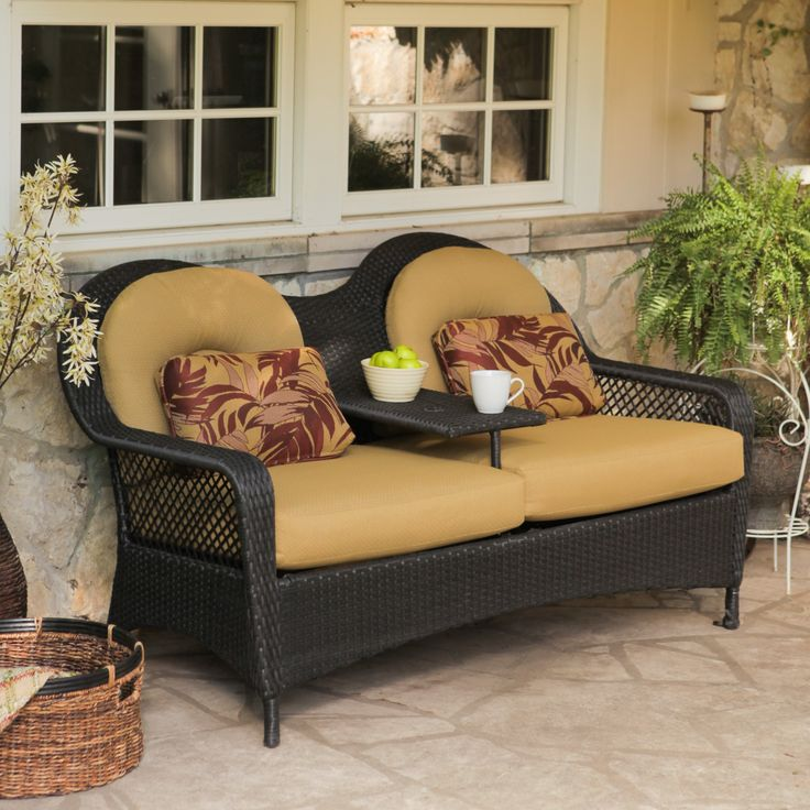 Have to have it. Rioja Collection All-Weather Wicker Tete-a-Tete $350.01
