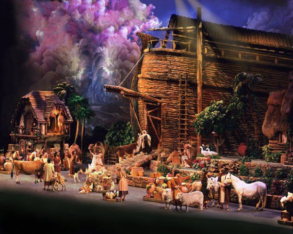 Sight & Sound Theaters Noah the Musical in Branson. I saw this when show when they had it. It was so good!