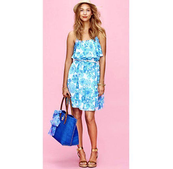 Lilly Pulitzer For Target Dress Sea Urchin for You Size Medium Ships Now Free  #LillyPulitzer #Tiered #Casual