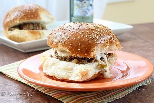 1000+ images about sandwiches: sloppy joes/ pulled meat on Pinterest ...