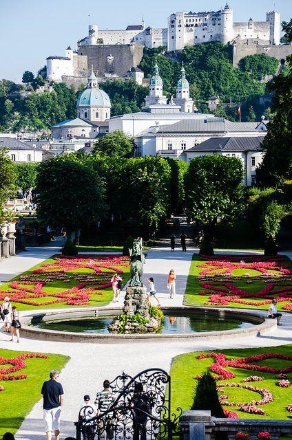 Salzburgo lugar barato para férias na Europa