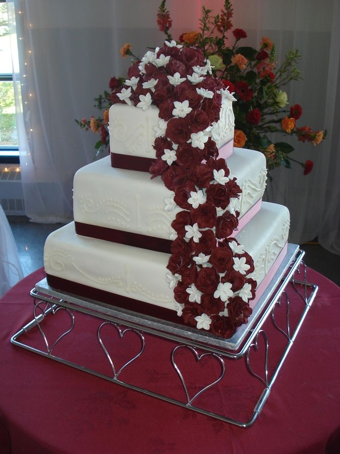 Vanilla Sponge Torted Twice Each Layer With Strawberry Buttercream Filling The Cake Was Covered In