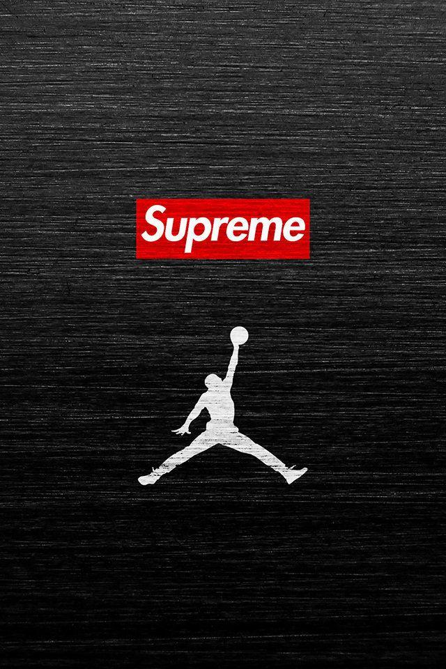 Air Jordan Supreme Wallpaper. #airjordan #nike #supreme #iphone #wallpaper