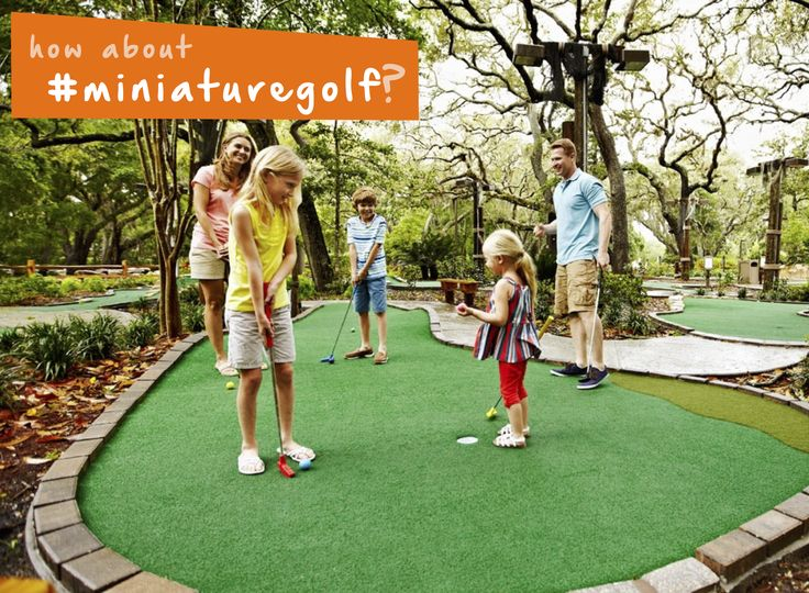 How about playing #miniaturegolf on the #boardwalk? #summer #familyfun #thingstodo