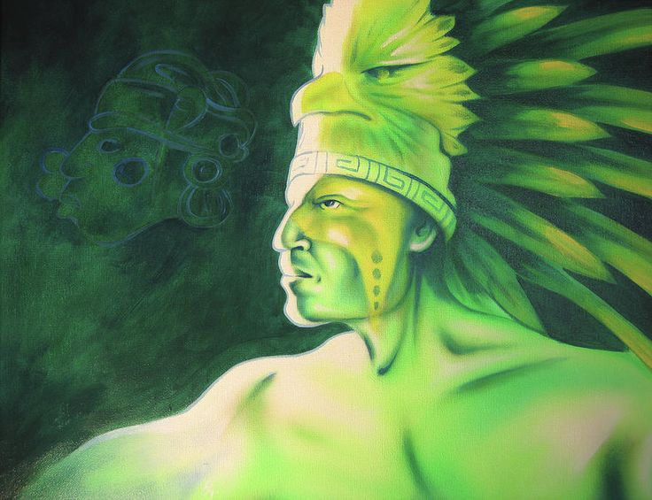 Native American Oil Paintings  | Quetzal Painting by Robert Martinez - Quetzal Fine Art Prints and ...