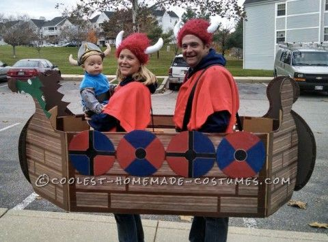 Coolest Viking Family Costume