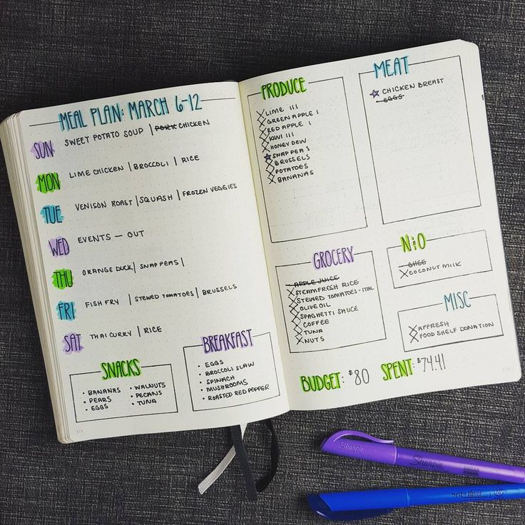 """#mealplanning  """"This week's meal plan for #planwithmechallenge day 8.  As a food lover, meal planning has been huge in helping me stick to a budget.  Each weekend, I take…"""""""
