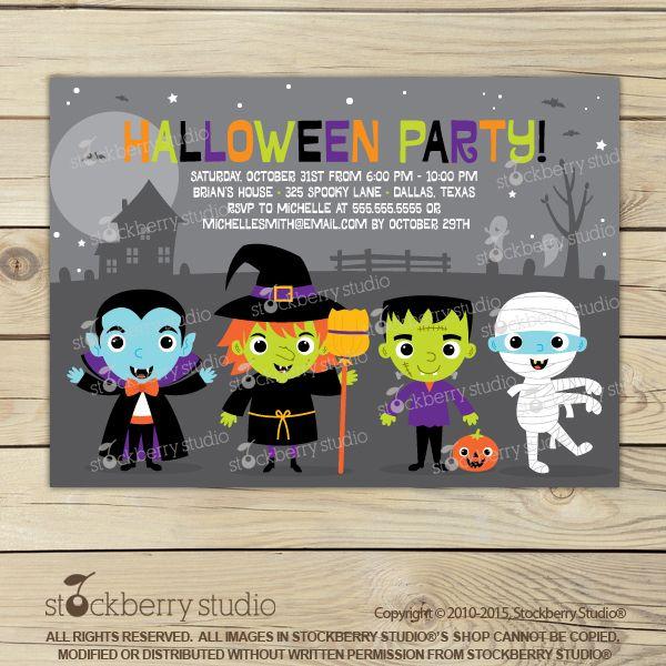 best 25 halloween invitations kids ideas on pinterest halloween birthday invitations halloween birthday party invitations and halloween gifts