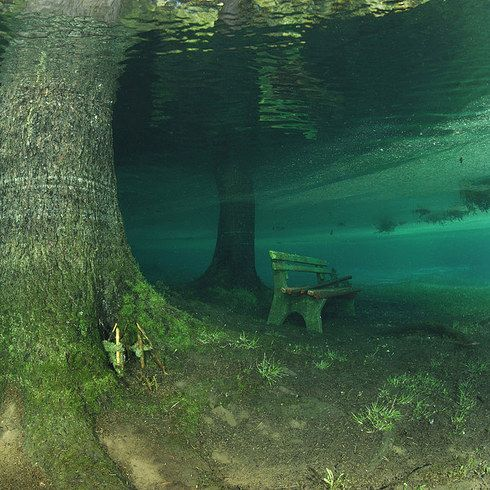 Green Lake — Tragoess, Austria | 15 Majestic Underwater Sites You Need To Visit Before You Die
