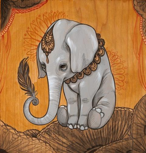 ✯ Tom Thumb :::•::: Artist Sandi Calistro ✯