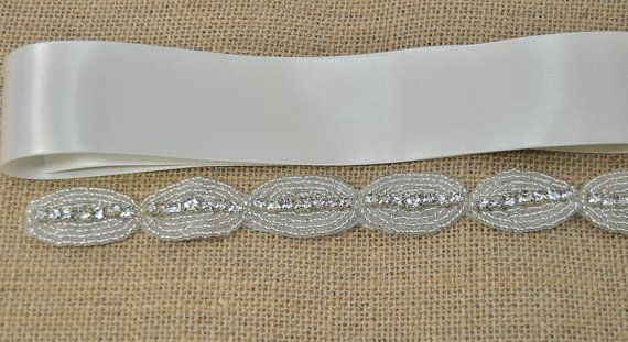 DIY Wedding Sash, DIY weddings, diy accessories, rhinestone trim, bridal sash, wedding sash, wedding accessory, DIY Wedding belt, sash belt