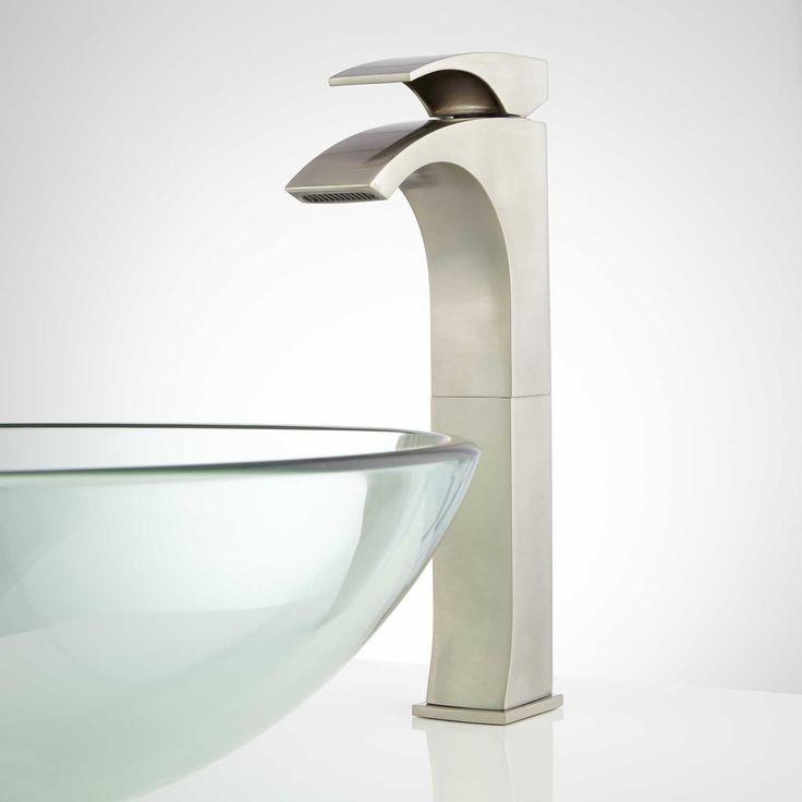 Montevallo Single Hole Vessel Faucet With Pop Up Drain