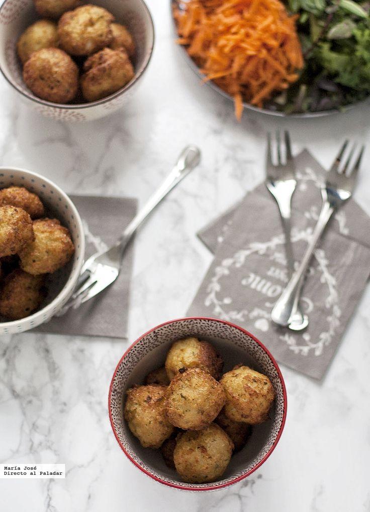 Te explicamos paso a paso, de manera sencilla, la elaboración de la receta de Buñuelos de bacalao. Ingredientes, tiempo de elaboración