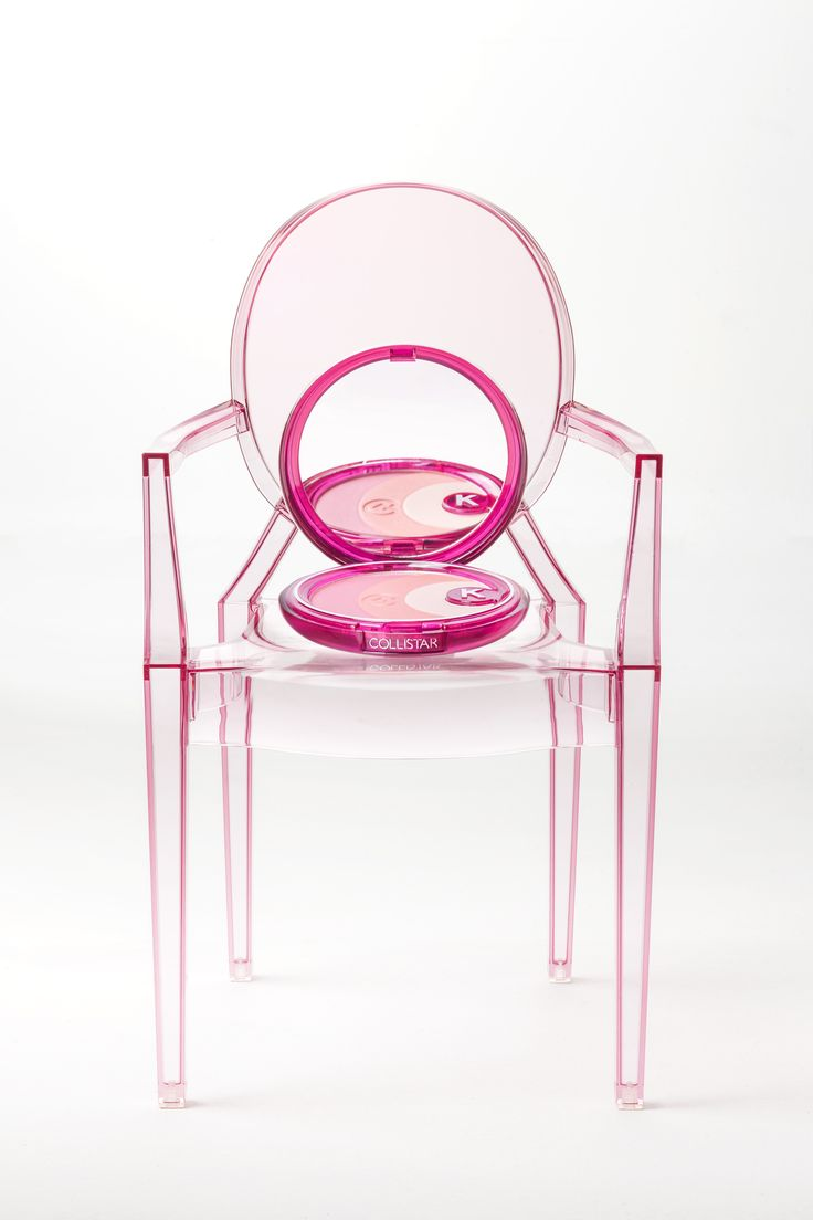 Lou Lou Ghost chair with Trasparenze blush