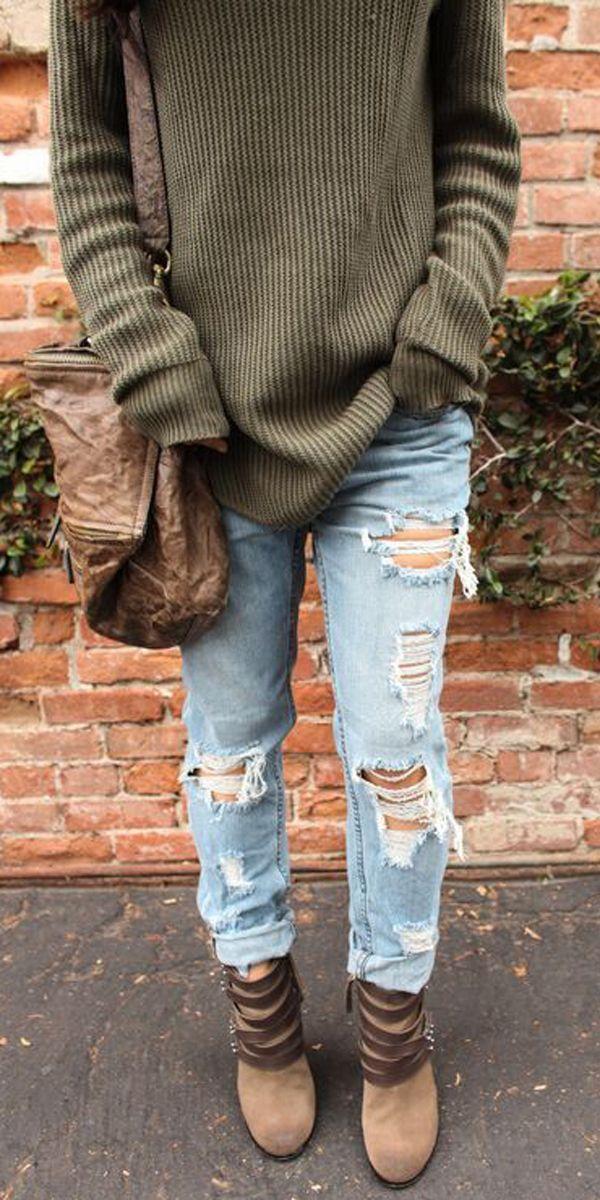The 25  best Boyfriend sweater ideas on Pinterest | Big sweater ...