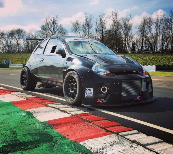 Ford Sportka With A 4g63t And Evo 4wd Drivetrain Ford Custom