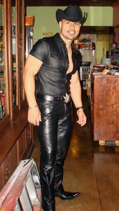 from Zane gay leather cowboys