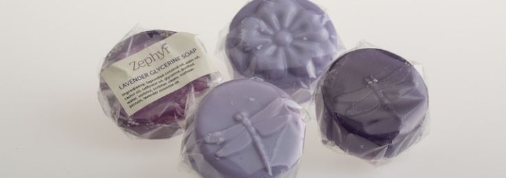 Lavender Soap Bags - 3 beautiful guest soaps in organza bag for your bathroom. The lavender essential oil will relax you and stimulate skin regeneration. It is safe for your face and body. Choose from either goat's milk or glycerine based soaps. Our soaps are free from parabens and other synthetic preservatives and free from sulphates and other harsh chemical surfactants or detergents.