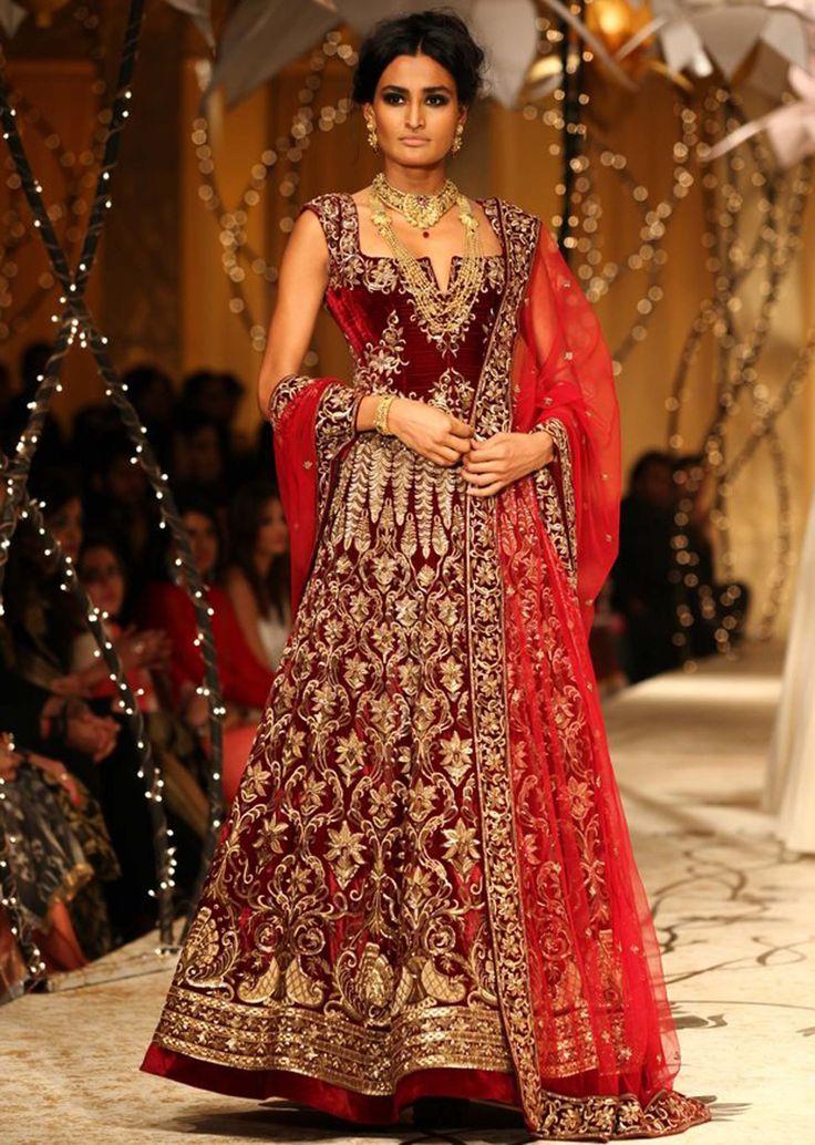 Models showcasing Rohit Bal's fabulous bridal and groom collection at Indian Bridal Fashion Week 2013 at Mumbai