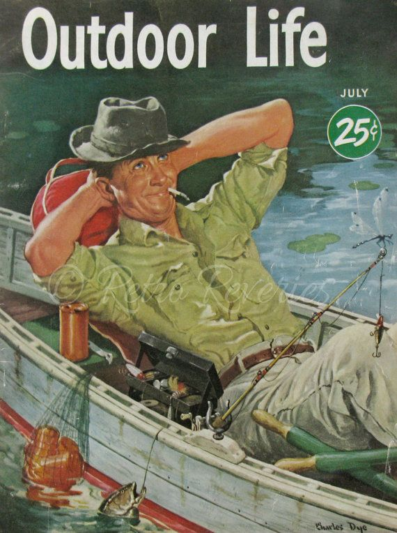 July 1951 Contented Fisherman