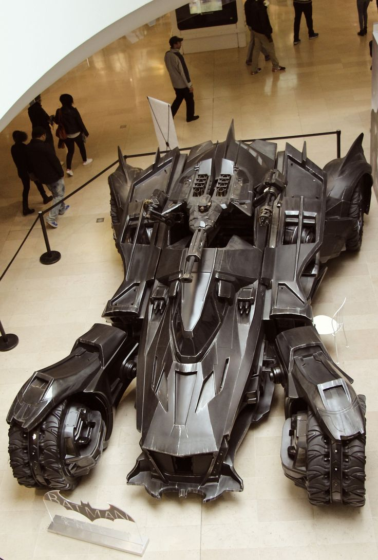 Arkham Knight's Batmobile. Battank I would say