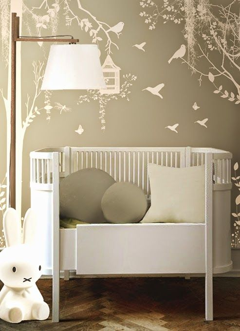 Interesting crib? Modern Country Style: Modern Country Bedrooms For Boys! Click through for details.