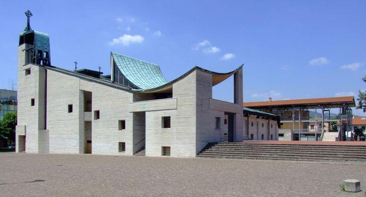 chiesa michelucci vicenza san giovanni battista - Cerca con Google