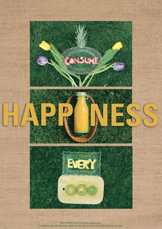 by Ioana Negulescu    Consume Happiness every day. (for a healthy life consume it every day. excessive use can seriously improve the way you and others around you feel.)