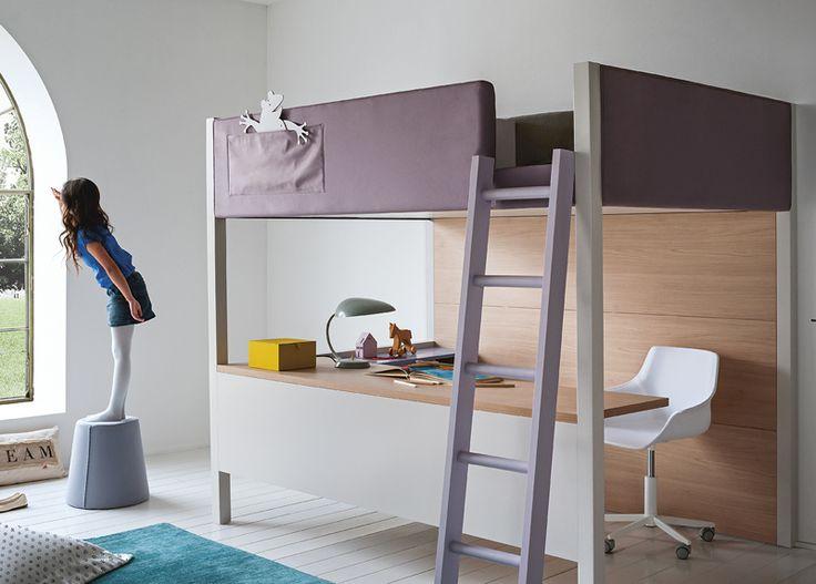 Nidi Camelot Bunk Bed With Desk U0026 Modern Bunk Beds Online At MOOD Part 7