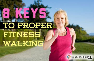 Are you #walking with ideal form for safety and optimal calorie burning? Find out here!   via @SparkPeople #walk #fitness