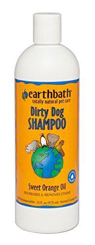 From 7.88 Earthbath Orange Peel Deep Cleaning Pet Shampoo 472 Ml