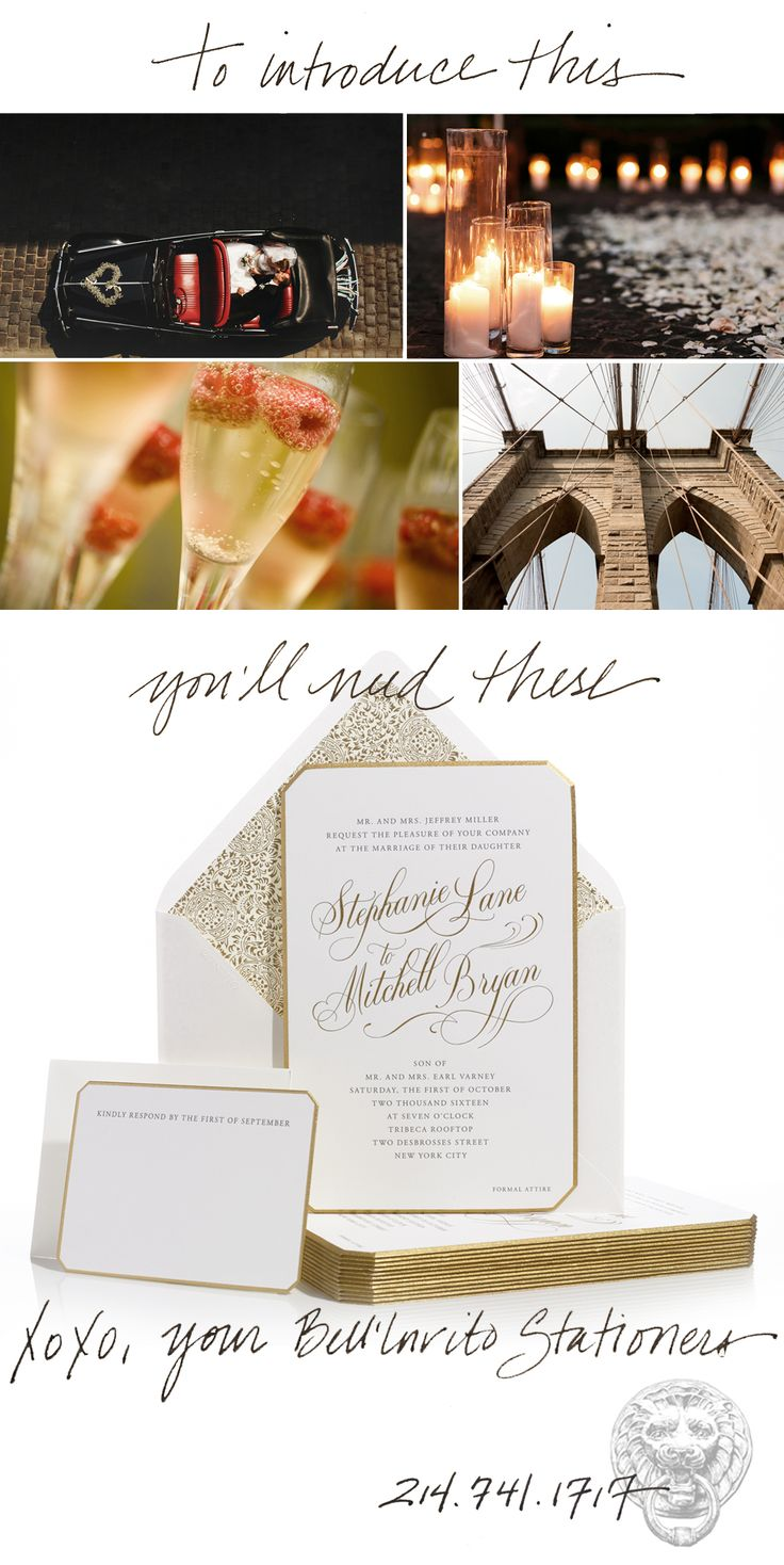 deer hunter wedding invitations%0A Couture Wedding Invitations in Shimering Gold