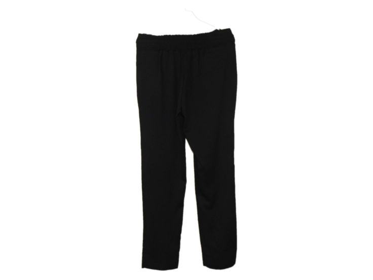 Fermuarsız Siyah Pantolon