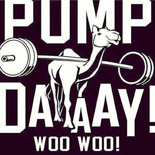 Pump day!
