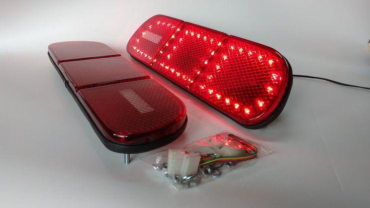 lanterna custom led / tail lights ford