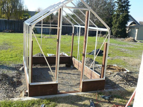 17 Best Images About Harbor Freight Greenhouse Ideas On
